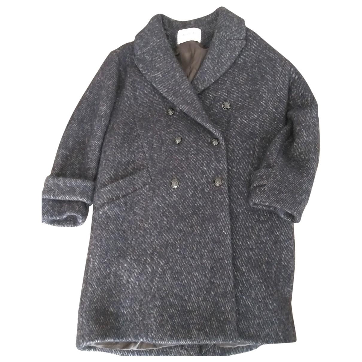 Ba&sh \N Maentel in  Marine Wolle