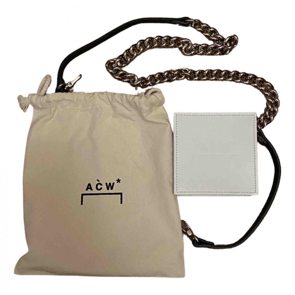 A-cold-wall - Petite maroquinerie   pour homme en cuir - blanc
