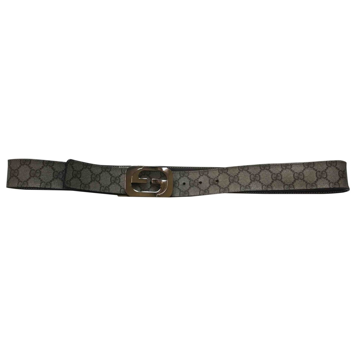 Gucci \N Beige Cloth belt for Men 39 Inches