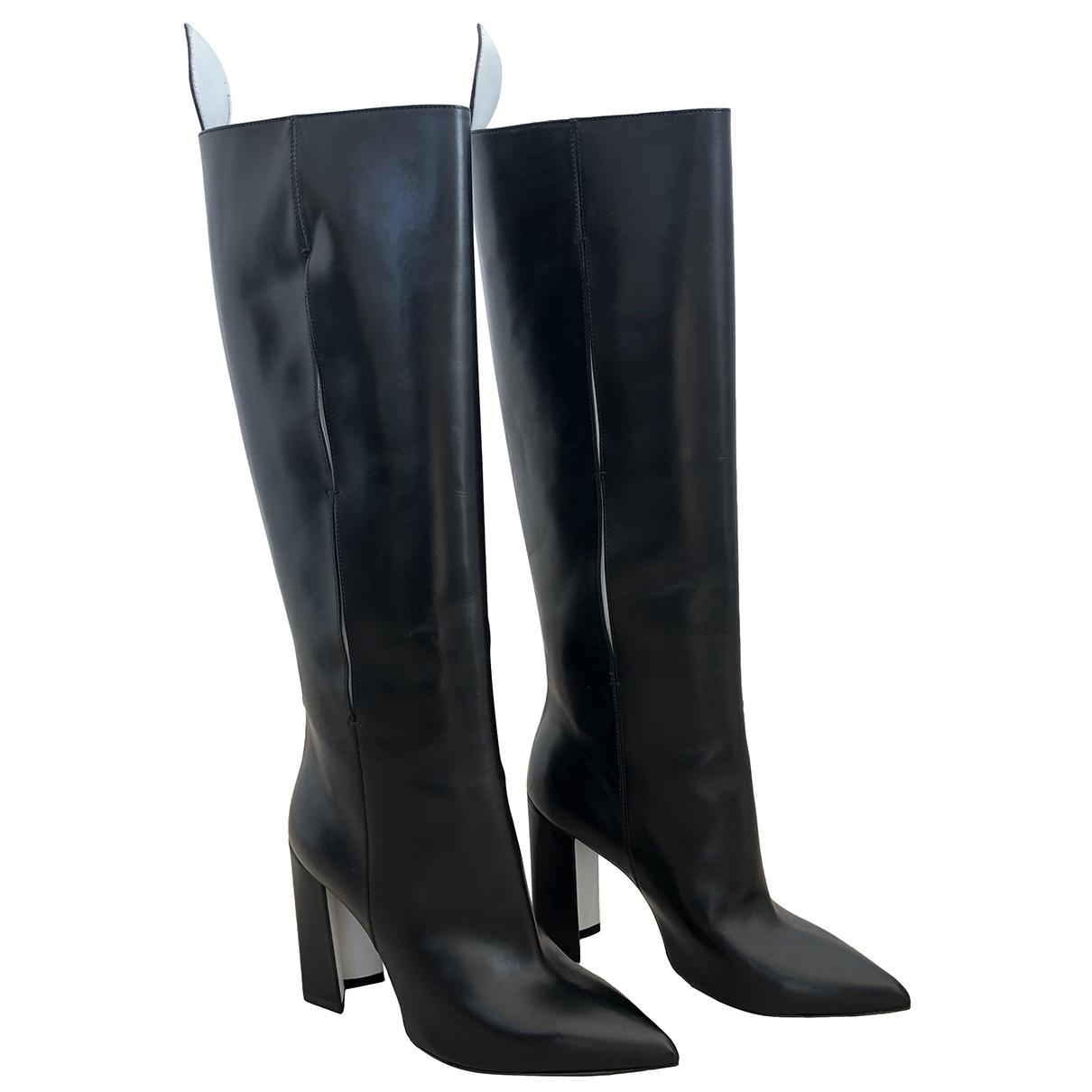 Louis Vuitton - Bottes Matchmake pour femme en cuir - noir