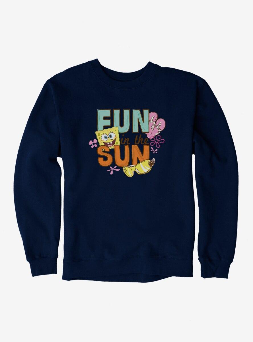SpongeBob SquarePants Fun In The Sun Script Sweatshirt