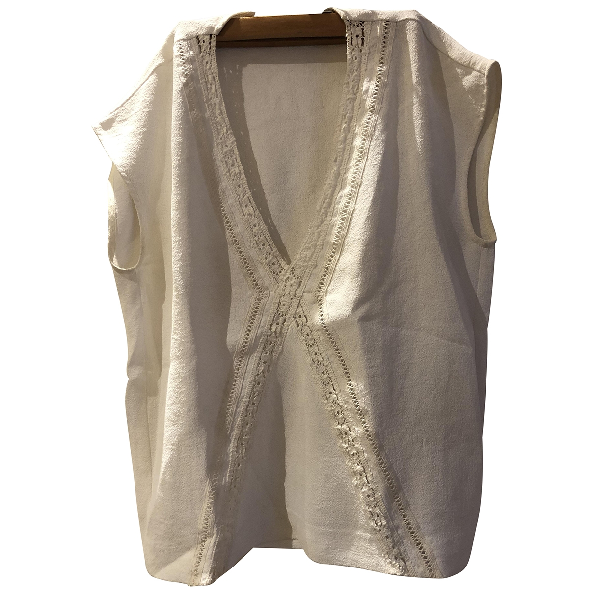Maje \N White  top for Women 1 0-5