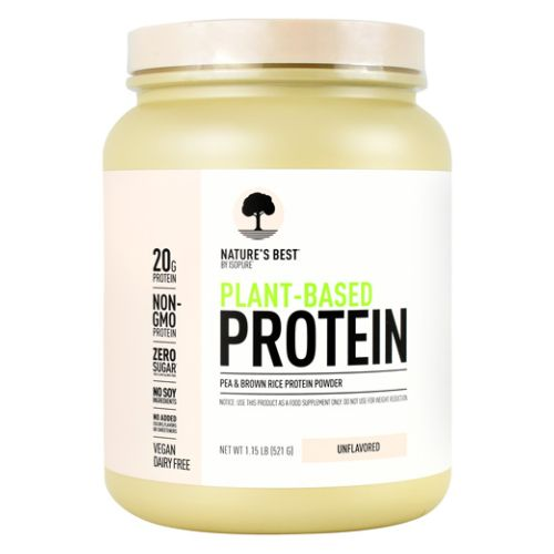 Plant Based Protein Unflavored 1.3 lbs by Natures Best