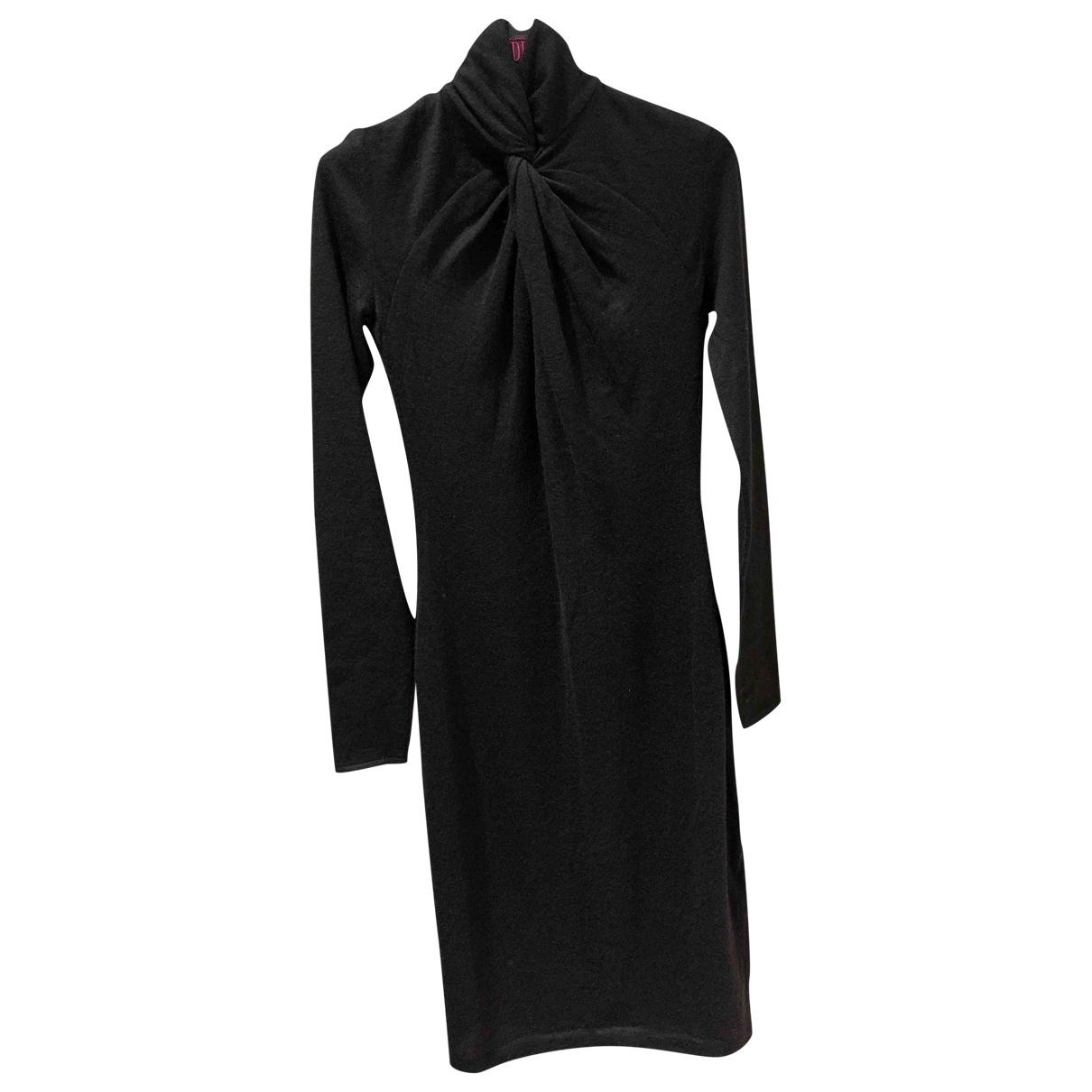 Ralph Lauren Collection \N Kleid in  Schwarz Kaschmir
