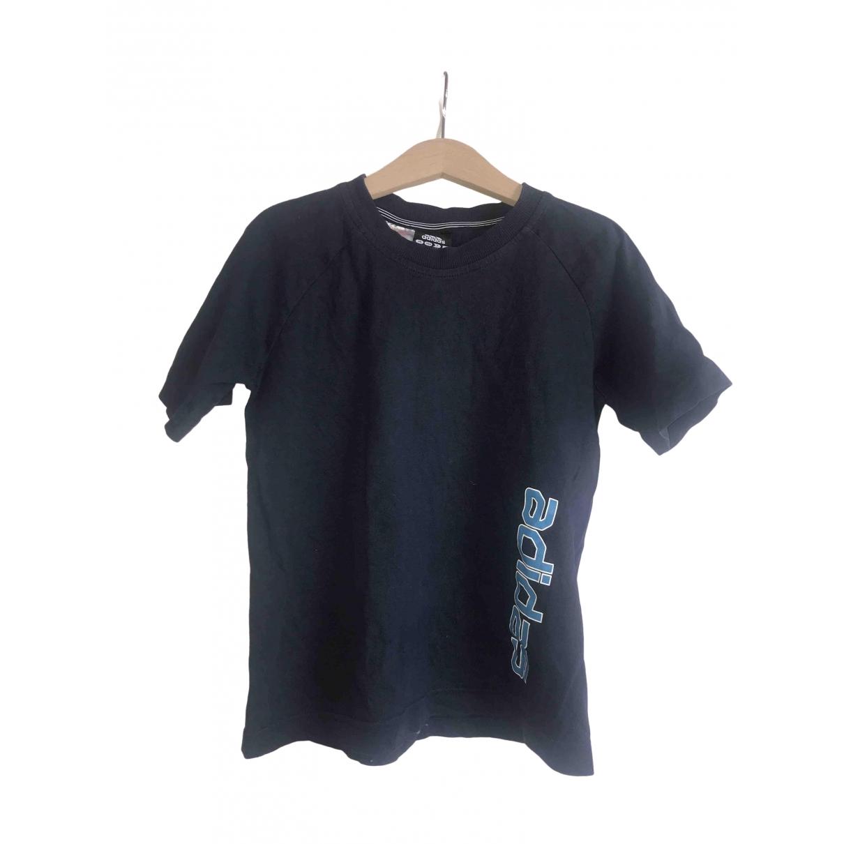 Adidas - Top   pour enfant en coton - bleu