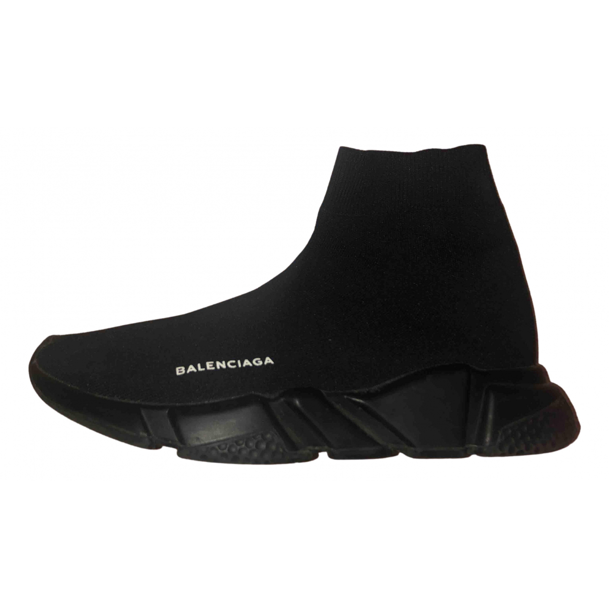 Balenciaga Speed Black Cloth Trainers for Women 41 EU
