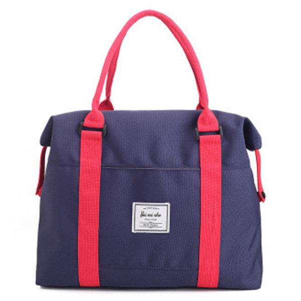 Women Nylon Duffel Bag Casual Outdoor Tote Bags Travel Bag
