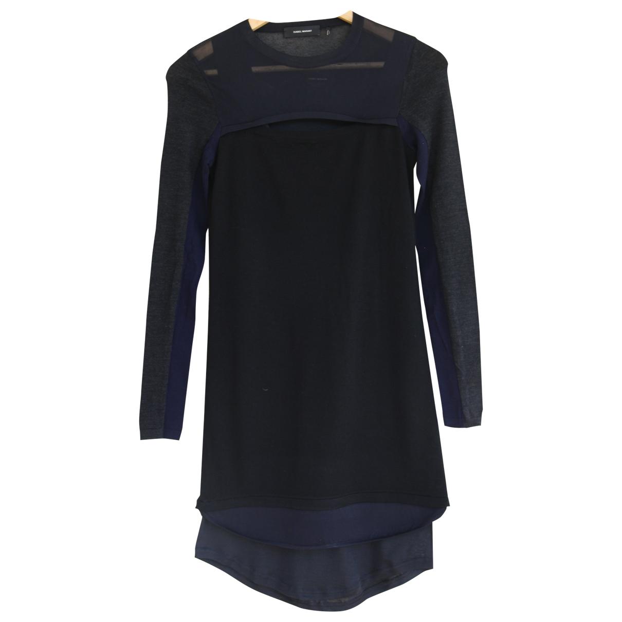 Isabel Marant \N Black Wool dress for Women 38 IT