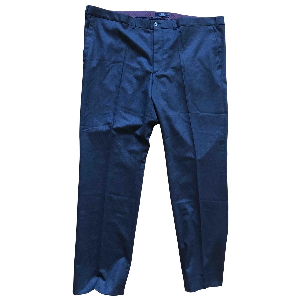 Bogner \N Black Wool Trousers for Men XXXL International
