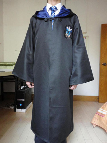 Milanoo Harry Potter Costume Ravenclaw Robe Halloween Cosplay Costume Outfit