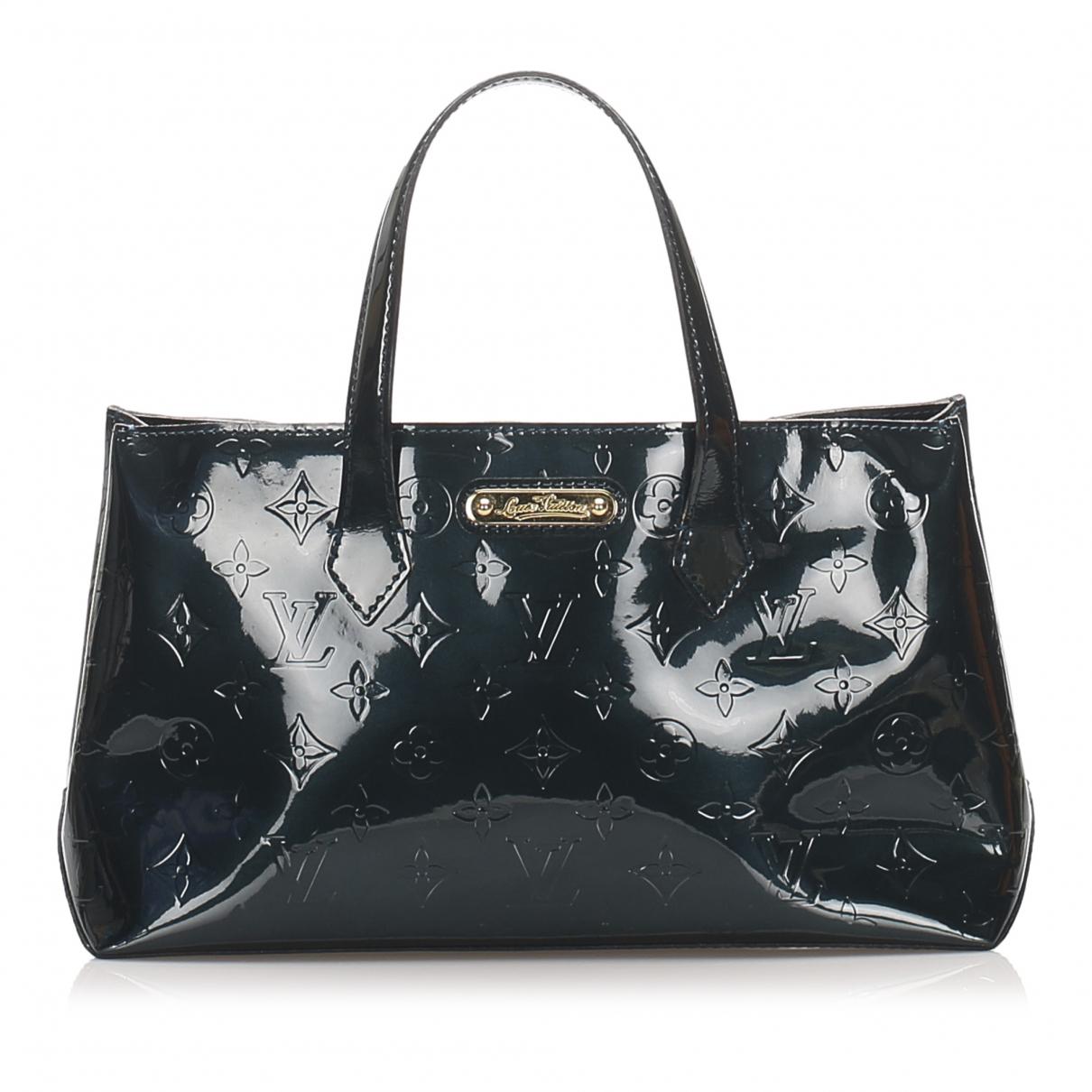 Louis Vuitton Wilshire Blue Leather handbag for Women \N