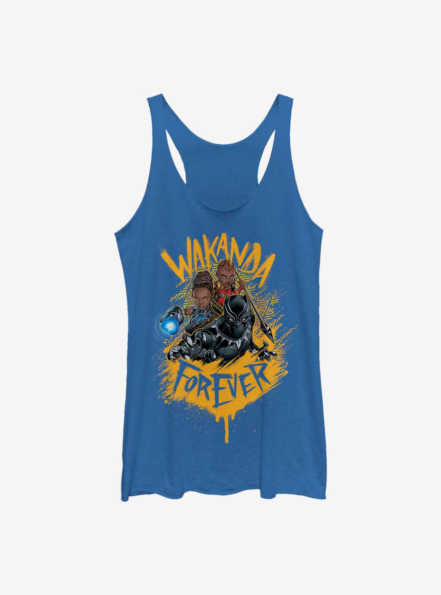 Marvel Black Panther Trinity Womens Tank Top
