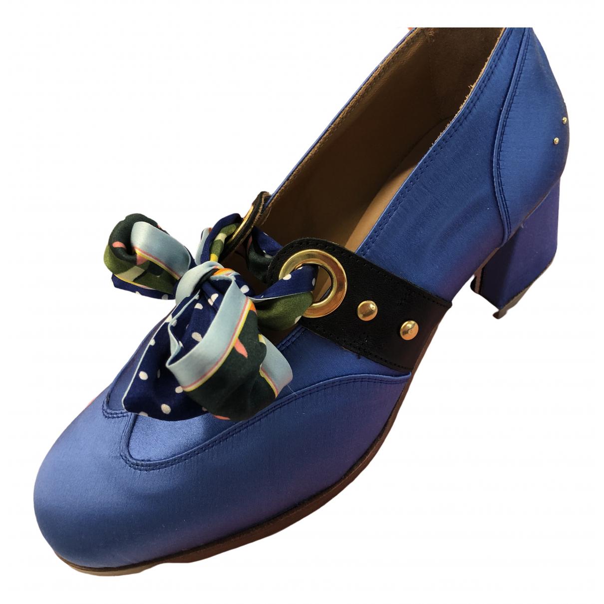 Tacones de Lona Lf Shoes