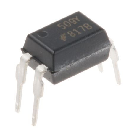 ON Semiconductor , FOD817B DC Input Transistor Output Optocoupler, Through Hole, 4-Pin MDIP (25)