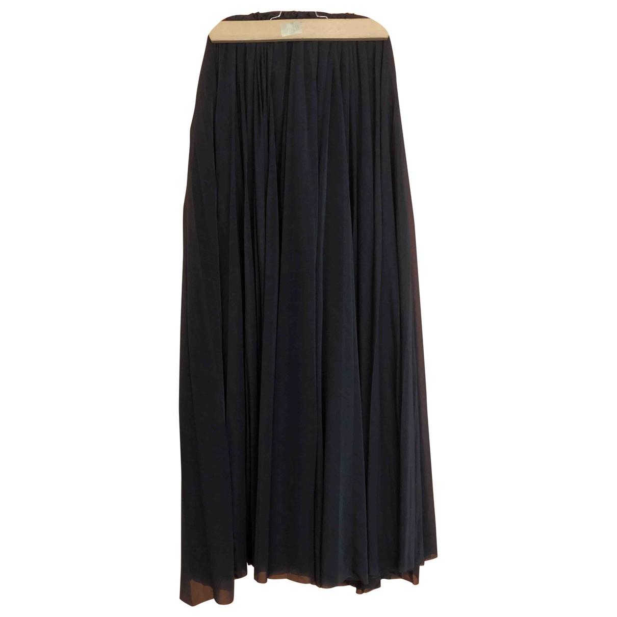 Celine \N Anthracite skirt for Women 38 FR