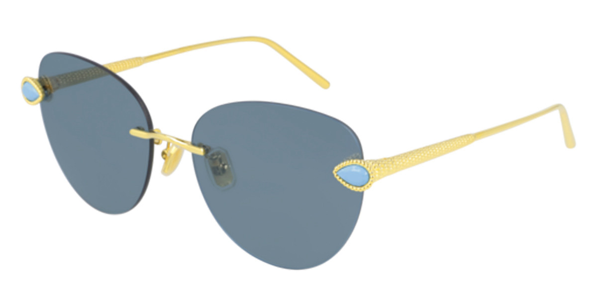 Boucheron BC0109S 002 Women's Sunglasses Gold Size 57