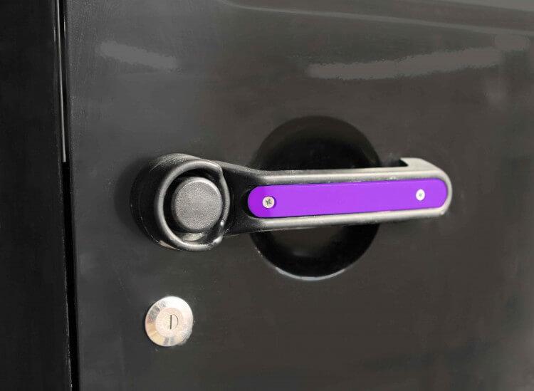Steinjager J0044818 Door Handle Accent Kit Wrangler JK 2007-2018 4 Doors Plus Tailgate Sinbad Purple