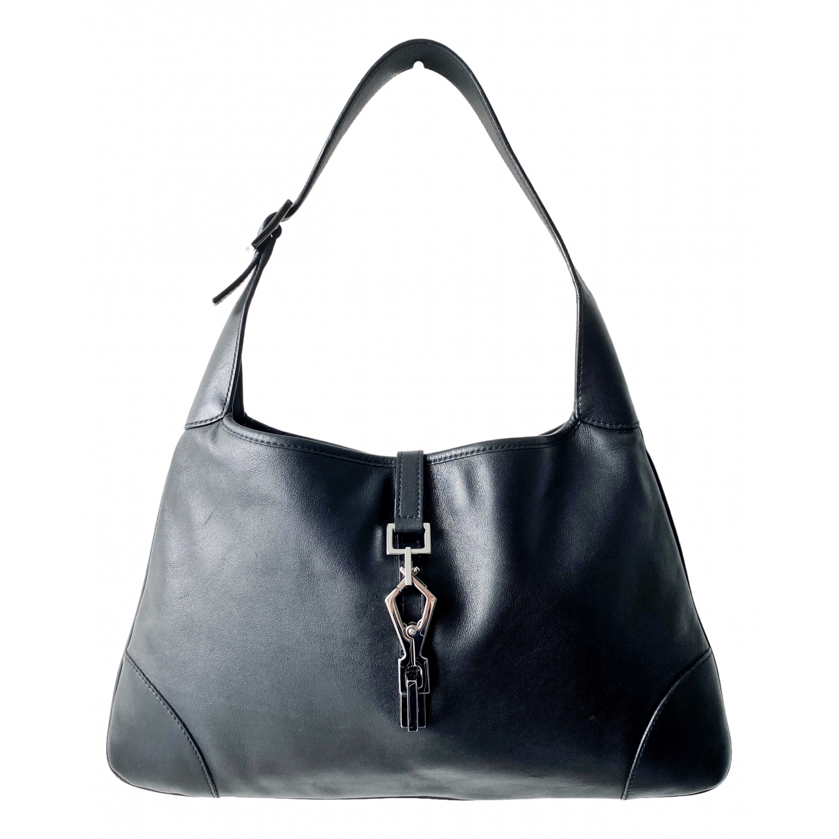Gucci Jackie Vintage  Black Leather handbag for Women \N