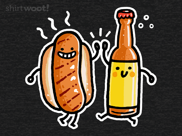 Brat And Beer T Shirt