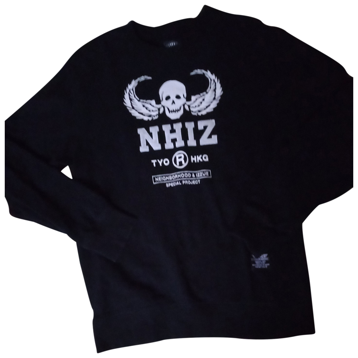 Neighborhood \N Pullover.Westen.Sweatshirts  in  Schwarz Baumwolle