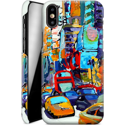 Apple iPhone XS Smartphone Huelle - Busboys Lament von Tom Christopher