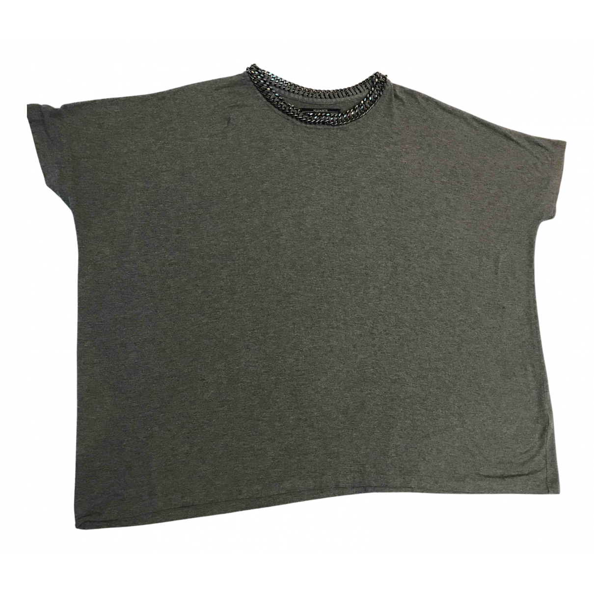 All Saints - Top   pour femme - gris