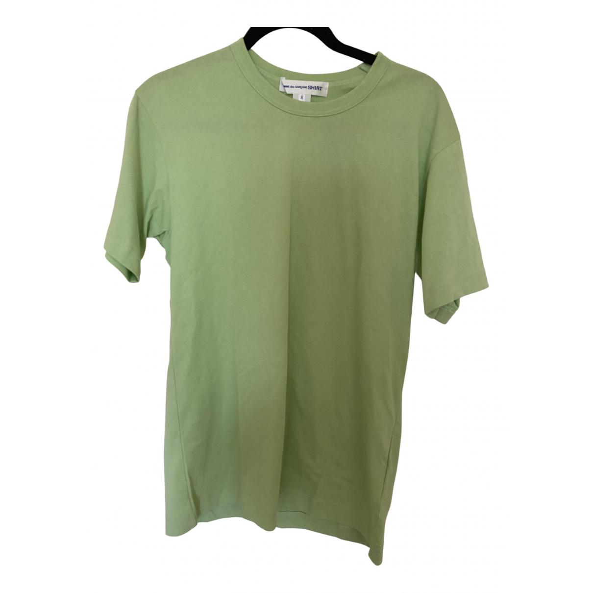 Comme Des Garcons - Tee shirts   pour homme en coton - vert