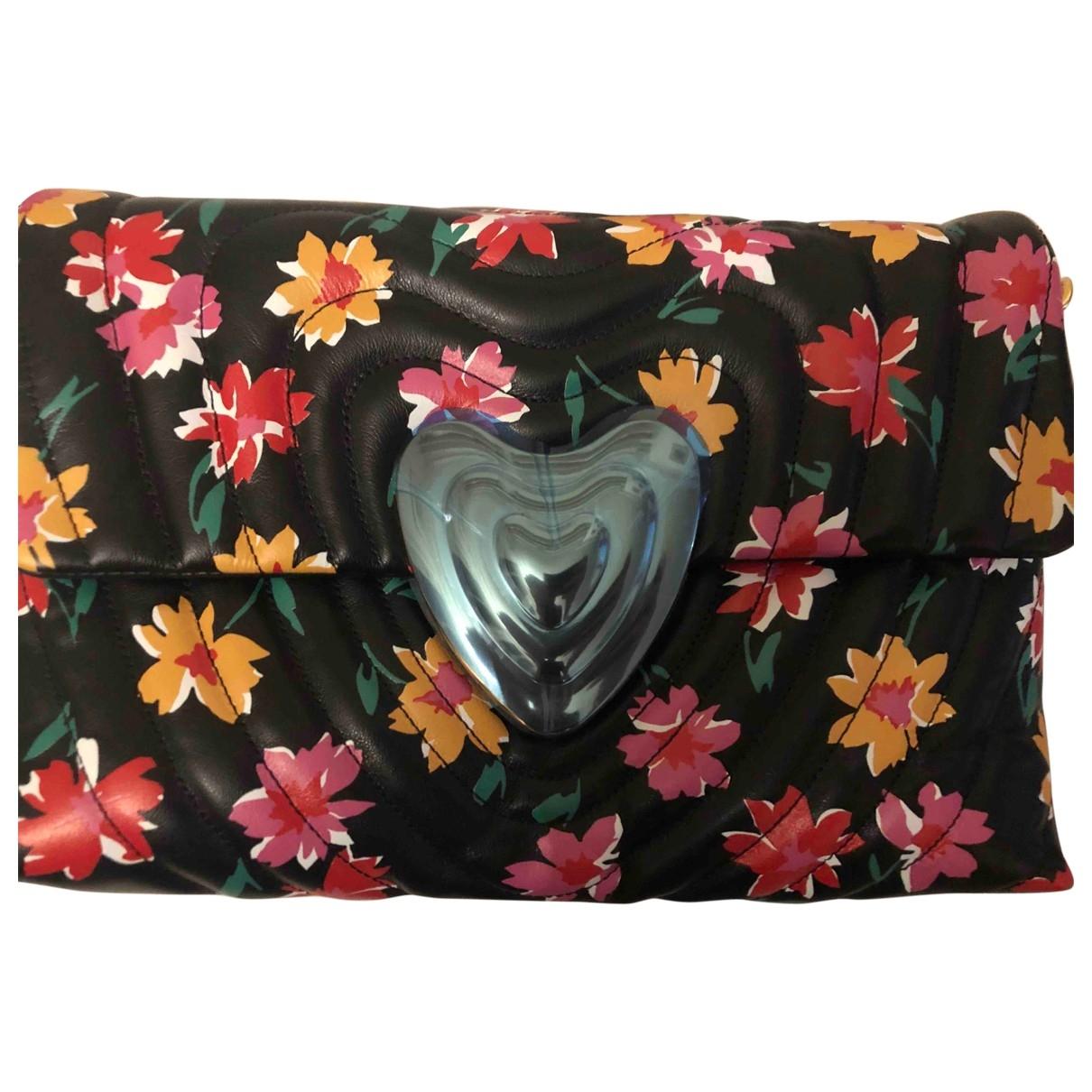 Escada Heart bag Handtasche in  Schwarz Leder