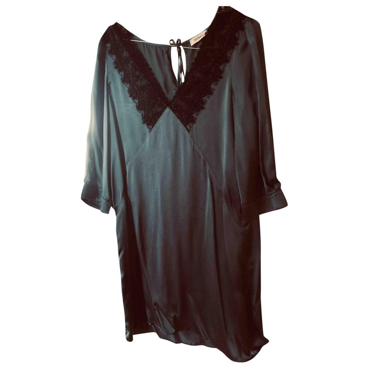 Max & Co \N Blue Silk dress for Women 40 IT