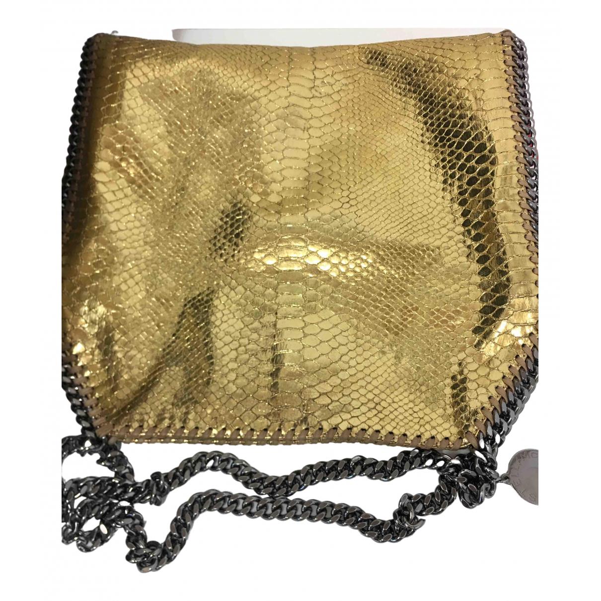 Stella Mccartney Falabella Gold Cloth handbag for Women \N