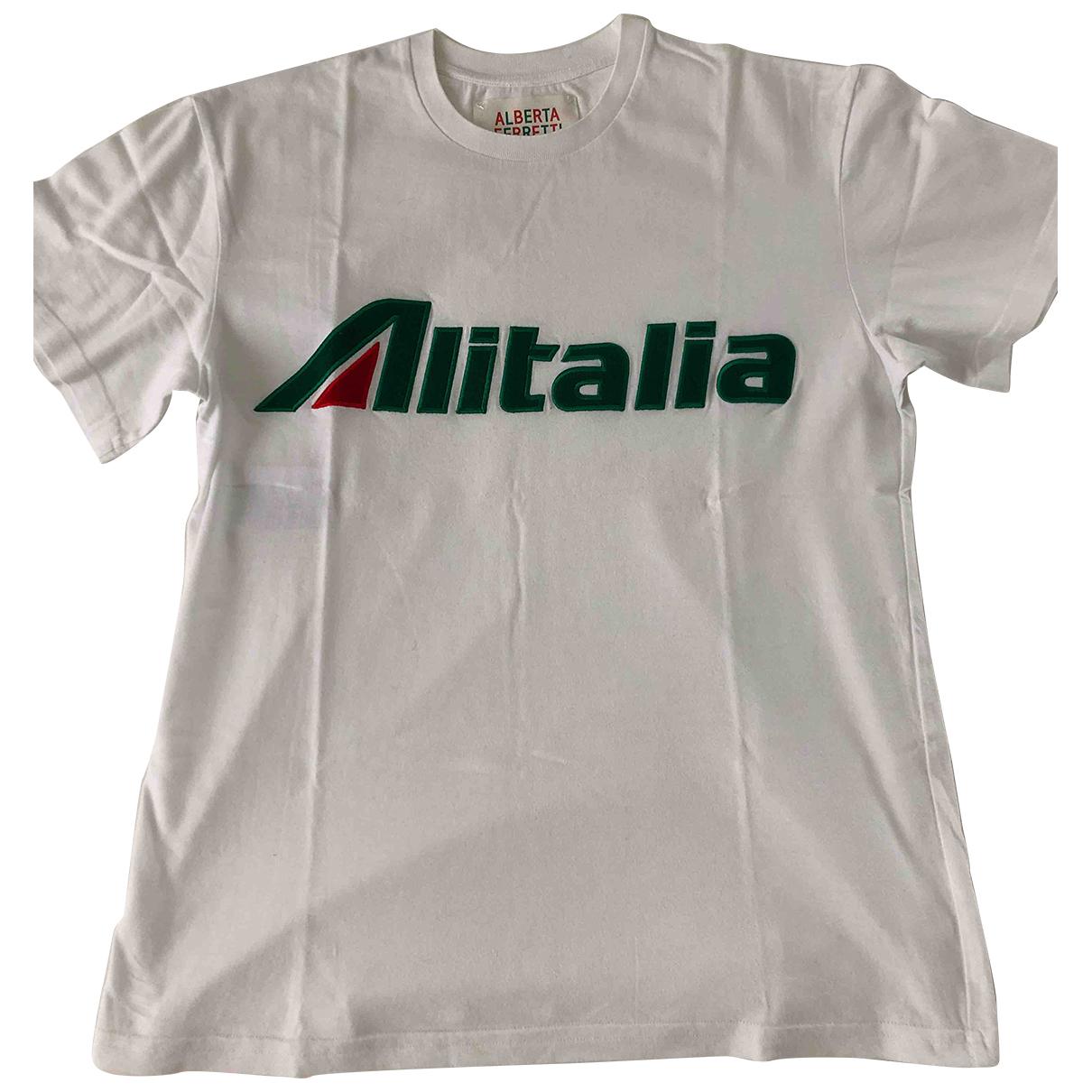 Alberta Ferretti N White Cotton  top for Women S International