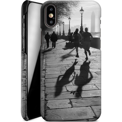 Apple iPhone X Smartphone Huelle - Walk If You Must von Ronya Galka