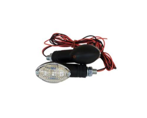 Fire Power Parts 60-1427 Cat Eye Marker Light Set Led Black 60-1427
