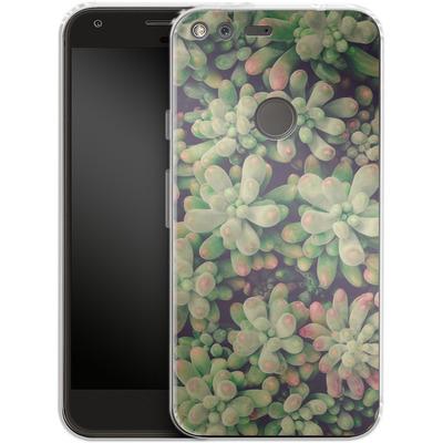 Google Pixel Silikon Handyhuelle - Kingwood Soft Cactus von Joy StClaire