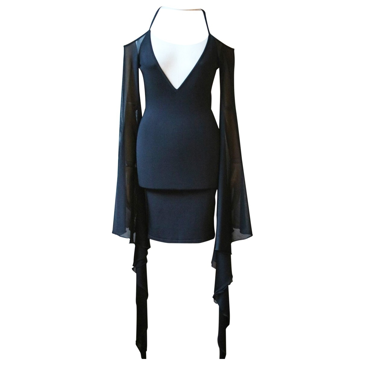 Balmain \N Black dress for Women 40 FR
