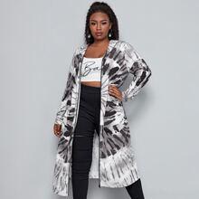 Mantel mit Batik