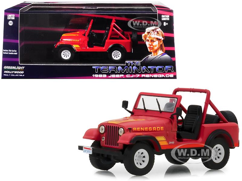 1983 Jeep CJ-7 Renegade Red (Sarah Connors)