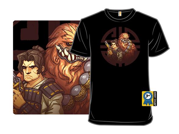 Han-samurai And Chew-oni T Shirt