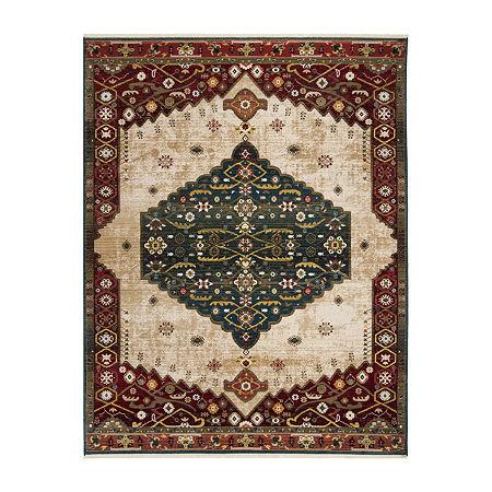 Safavieh Kashan Collection Eldon Oriental Area Rug, One Size , Multiple Colors