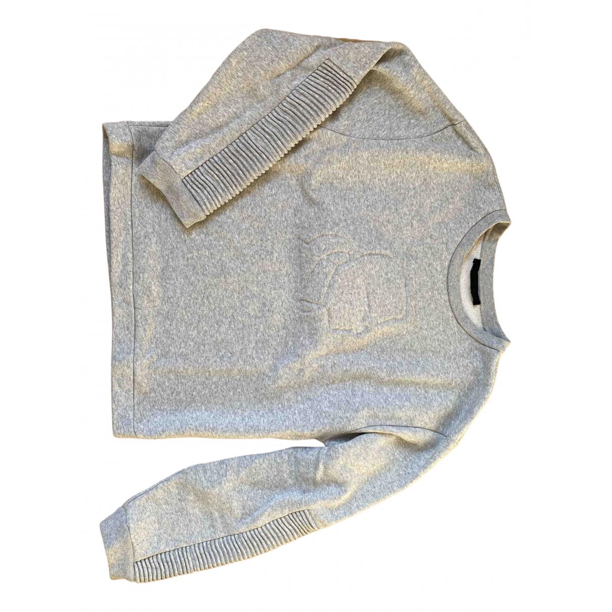 Karl Lagerfeld - Pull   pour femme en coton - gris