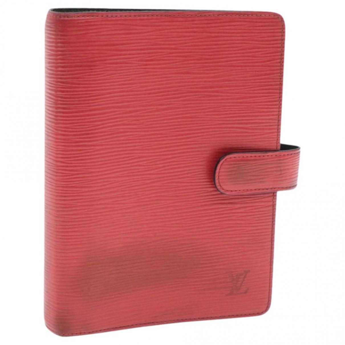 Louis Vuitton - Objets & Deco   pour lifestyle en cuir - rouge
