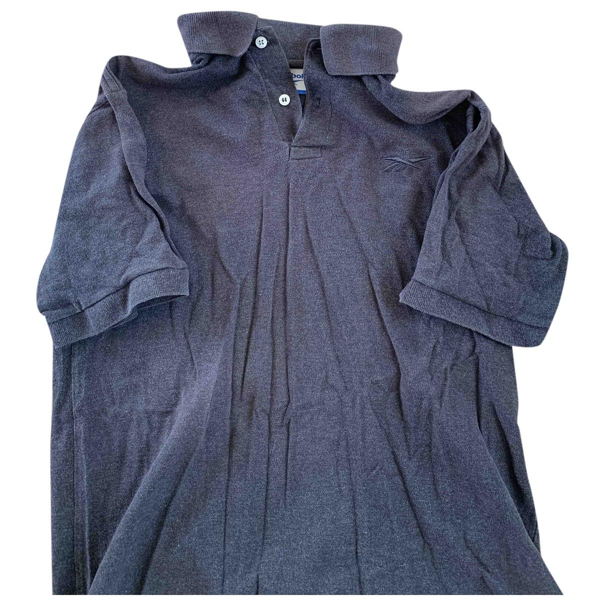 Reebok \N T-Shirts in  Grau Baumwolle