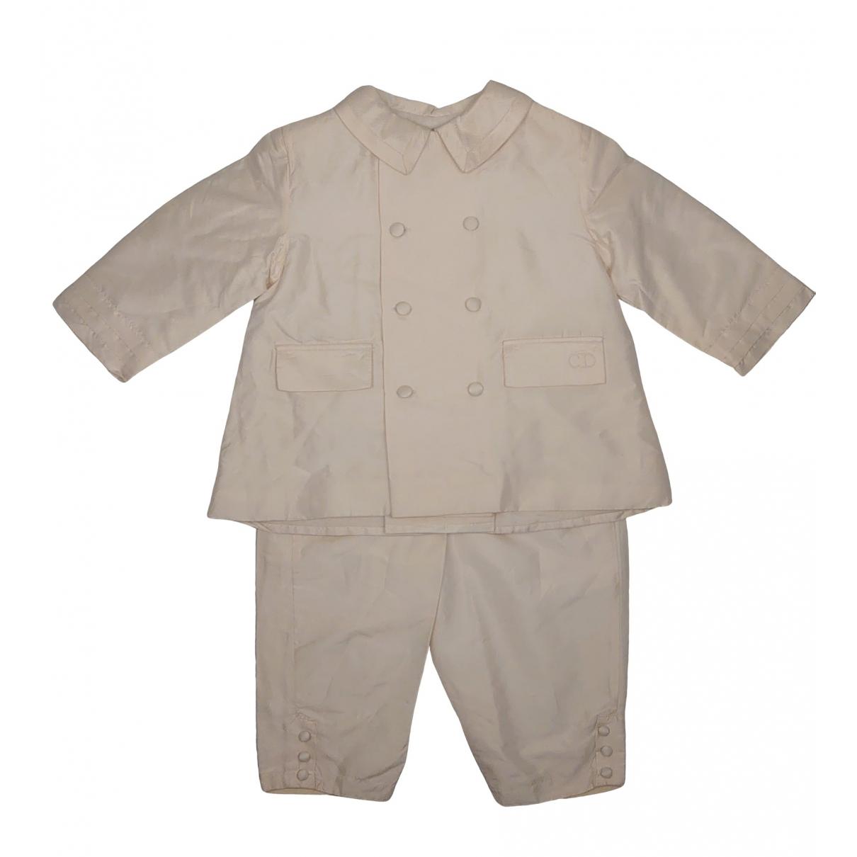 Baby Dior - Les ensembles   pour enfant en soie