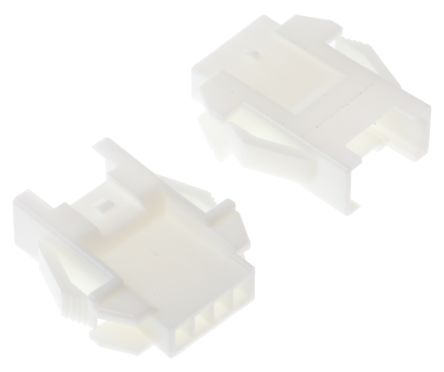 JST , 4 Way, 1 Row, Straight Backplane Connector (10)