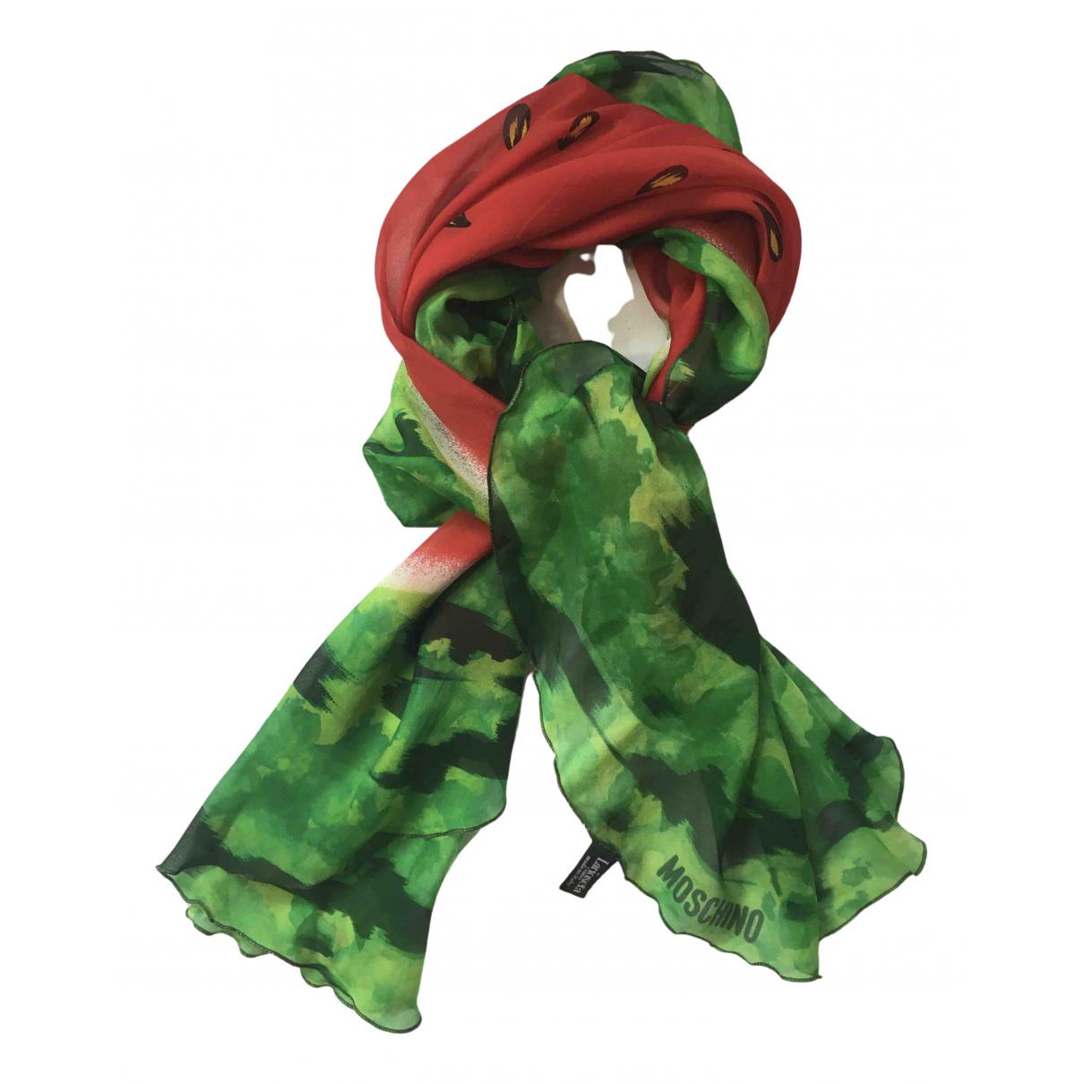Moschino N Multicolour Silk scarf for Women N