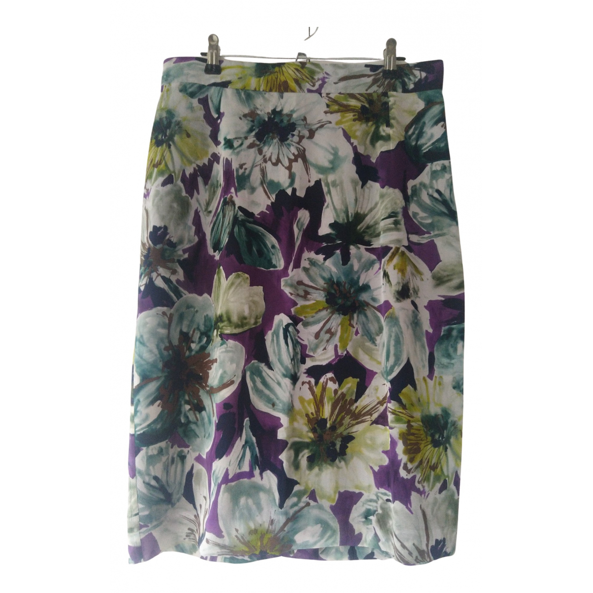 D&g - Jupe   pour femme en soie - multicolore