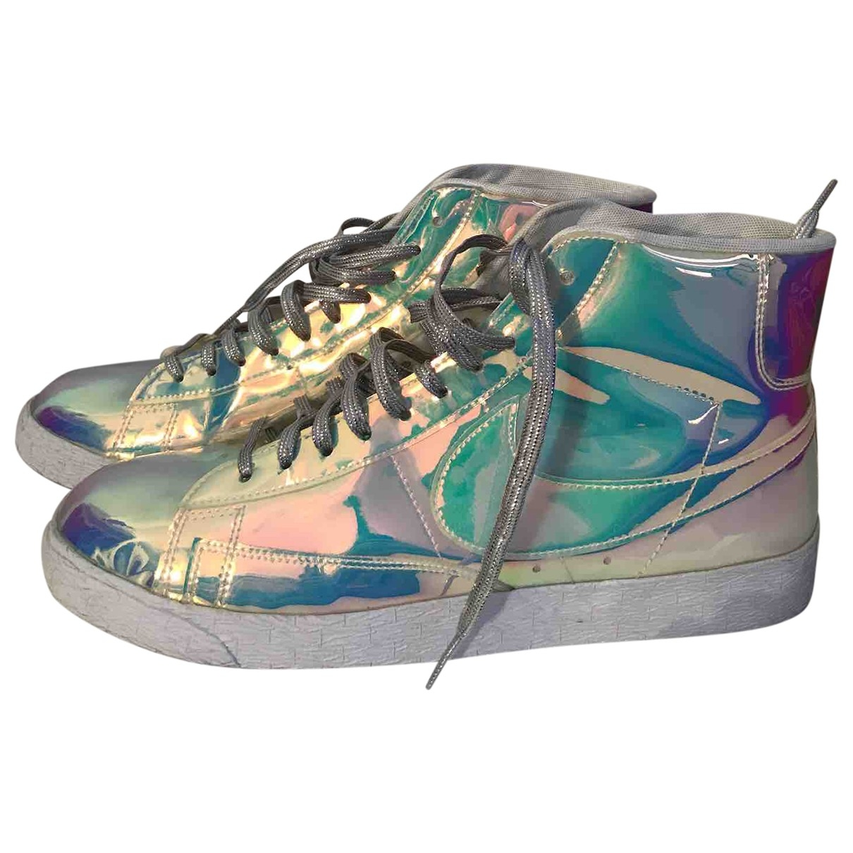 Nike Blazer Sneakers in  Bunt Leder