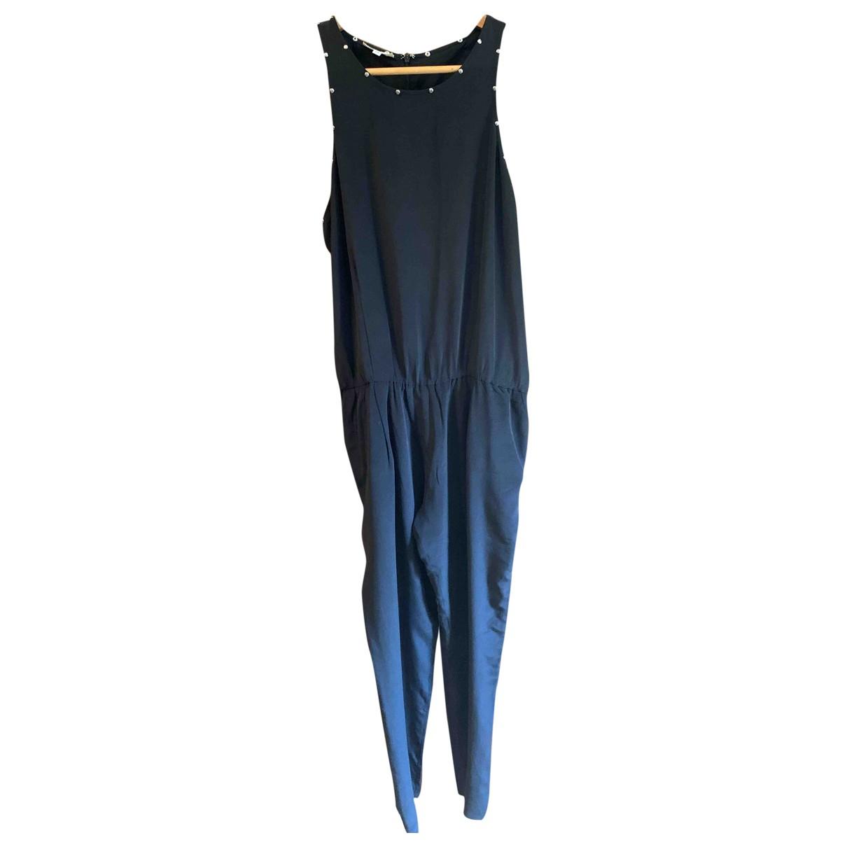 Bel Air - Combinaison   pour femme en soie - noir