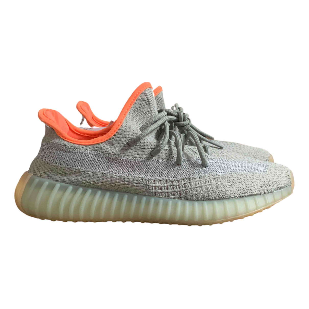 Yeezy X Adidas Boost 350 V2 Green Cloth Trainers for Men 9 UK