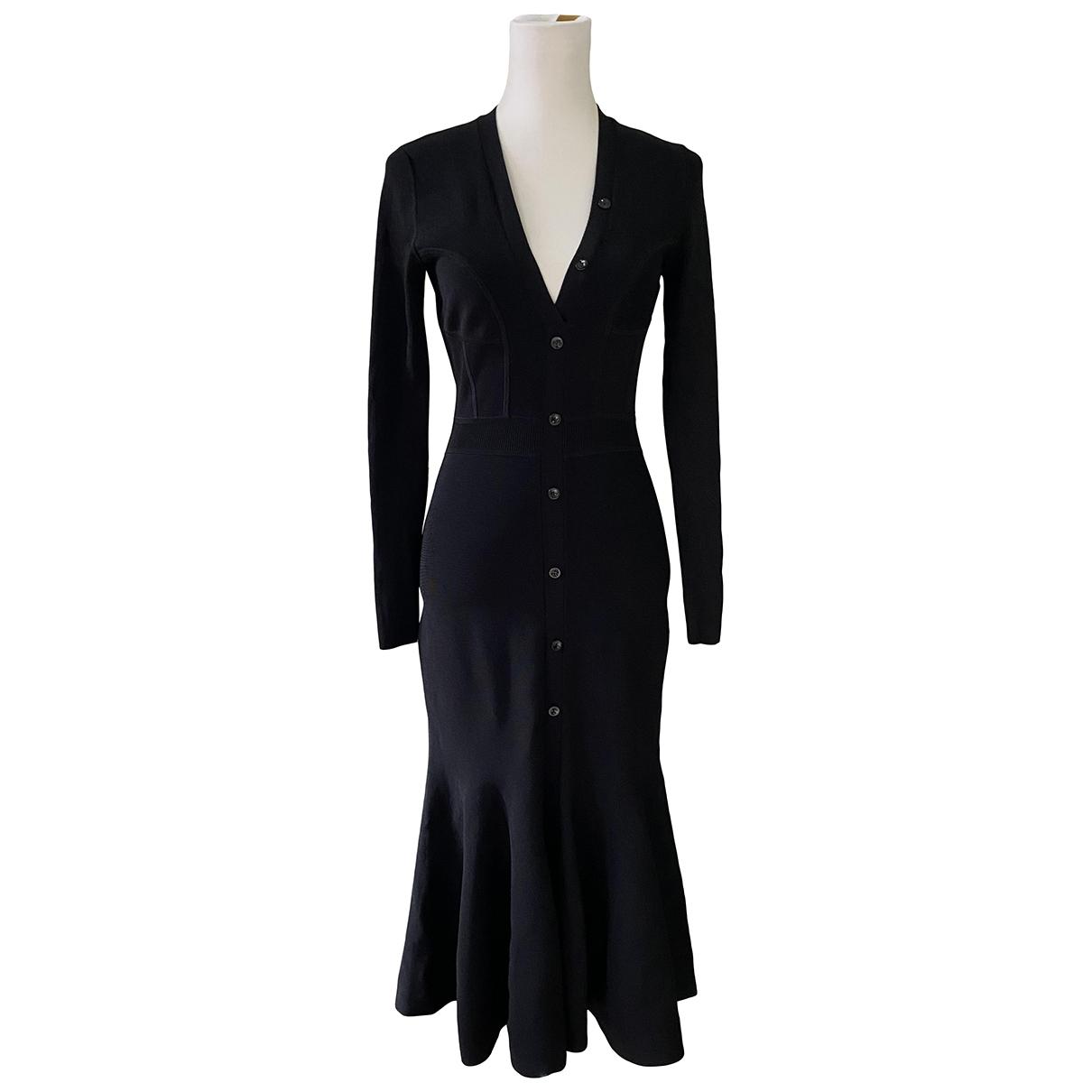 Narciso Rodriguez \N Kleid in  Schwarz Viskose